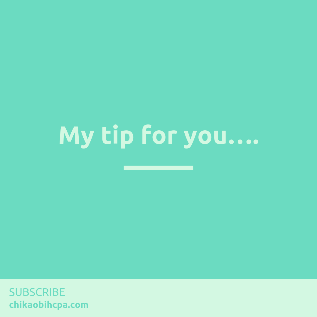 My tip for you….??? ?