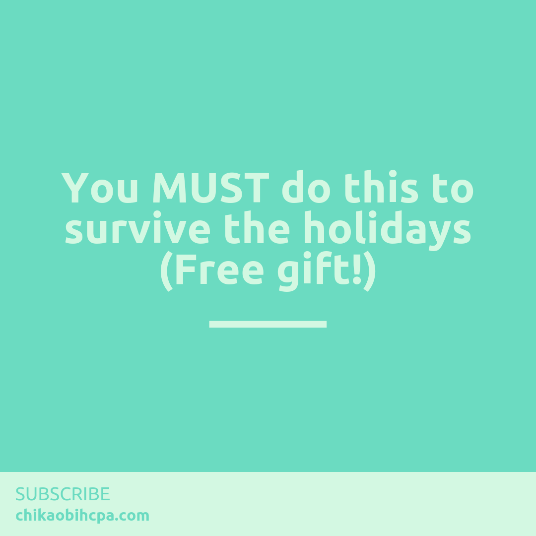 You MUST do this to survive the holidays (Free gift!)