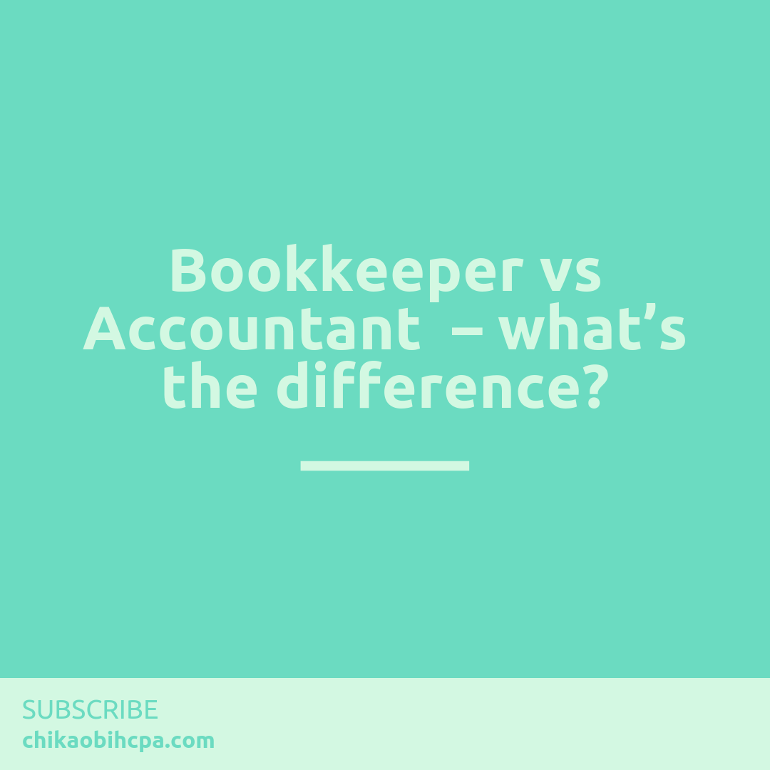 Bookkeeper vs Accountant – what's the difference?